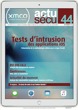 [ActuSécu #44] Tests d'intrusion iOS et PCI DSS v3.2