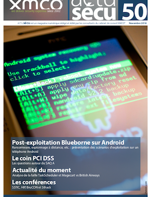 ActuSécu #50 : Post-exploitation Blueborne sous Android – Novembre 2018